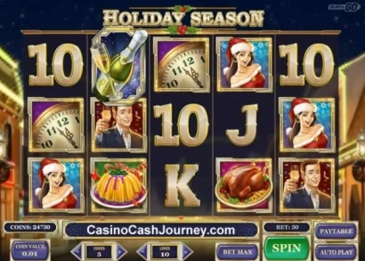 Darmowe spiny na holiday seasons w casumo casino 1
