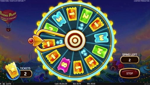 Darmowe spiny na theme park tickets of fortune royal panda 4